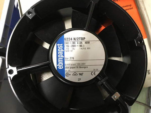 ebmpapst DC Diagonallüfter 6224 N/2TDP 24VDC