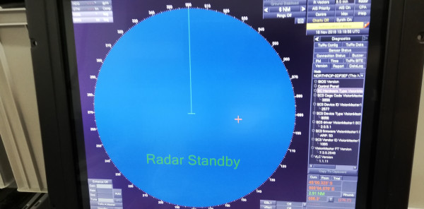 Sperry Marine Radar X Band Visionmaster 250 Kit Version